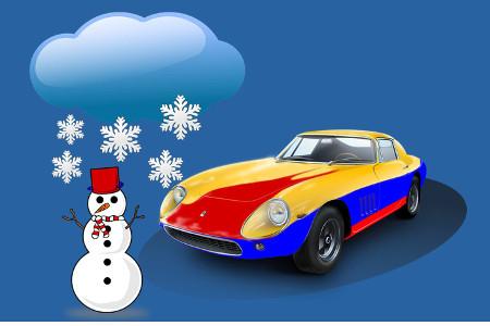 En hiver préparer sa voiture pour le froid