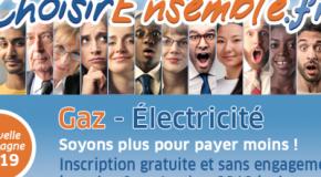 Nouvelle campagne Energie moins chère ensemble