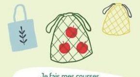 J'utilise des sacs à vrac en tissu pour aller faire mes courses.