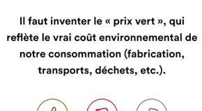 Prix vert : l'instrument d'une société de consommation responsable