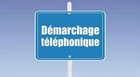 Démarchage téléphonique…
