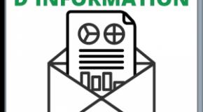 Les lettres d'information