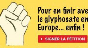 En finir avec le glyphosate en Europe : je signe la pétition !